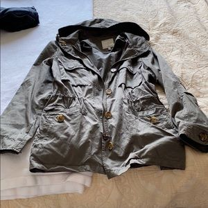 Joie Army Green Jacket